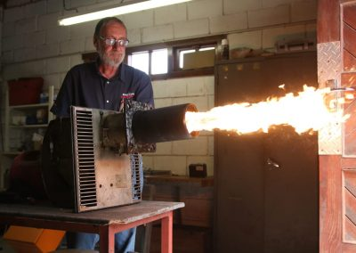 Burner repairs and maintenance