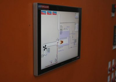 Autoflame combustion management system