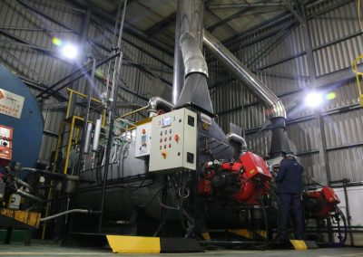 Installation of complete boiler house as well as ongoing operation